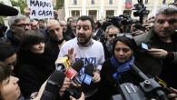 Roma, tensione a Piazza del Popolo tra polizia e attivisti anti-Lega