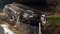 Cremona A21: Camion contro un bus di studenti in gita, 40 feriti