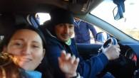 Roma, nomadi in giro con auto della polizia: il video su Facebook