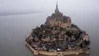 La magia della marea del secolo a Mont Saint-Michel [foto]