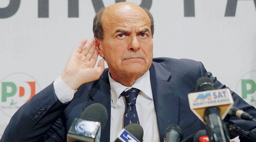 """Bersani manda un messaggio a Renzi, e su Landini: """"Noi vogliamo incidere, non urlare"""""""