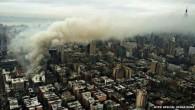 New York, crollano quattro edifici dopo un'esplosione a Manhattan