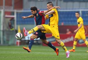 Serie A: il Genoa batte il Parma per 2-0, segnano Falque e Pavoletti