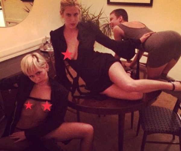 Miley Cyrus e le Willis