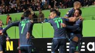 Europa League: poker Napoli in casa del Wolfsburg, ottimo pari per la Fiorentina a Kiev