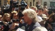 Grillo a Roma in difesa dei 59 deputati sospesi del M5S