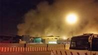 Notte di fuoco e paura a Fiumicino: l'aeroporto riprende a funzionare