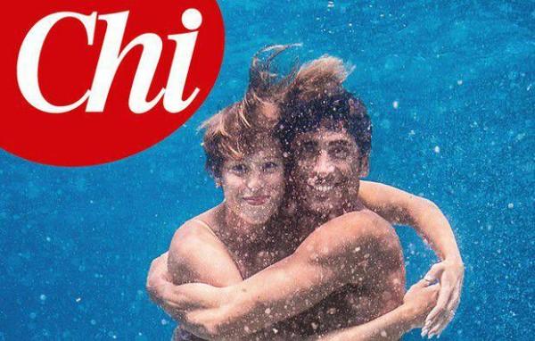 Federica Pellegrini e Filippo Magnini, la copertina di 'Chi' per i due campioni del nuoto [foto]