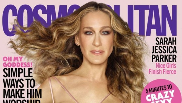 Sarah Jessica Parker, la Carrie di Sex and the City copertina del mese su Cosmopolitan [foto]