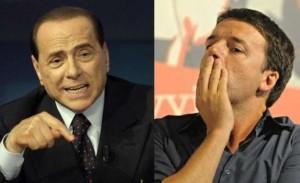 """Berlusconi: """"Modifica della legge Severino nel patto del Nazareno"""". Renzi: """"Non è vero"""""""