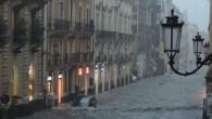 Catania, allerta meteo con doppio codice rosso: sospesa attività didattica e chiuso il cimitero