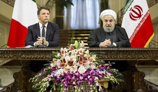 """Iran, incontro Matteo Renzi-Hassan Rohani: """"Follia dire che tutti islamici sono terroristi"""""""