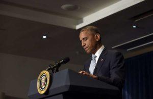 """Sparatoria Dallas, presidente Obama: """"Un attacco feroce e calcolato, sarà fatta giustizia"""""""