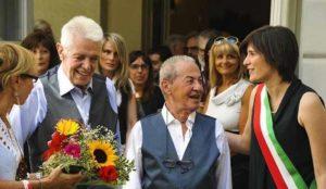 """Unioni civili, due 80enni per il primo sì a Torino: """"Siamo veramente felici"""""""
