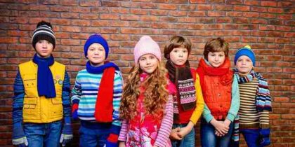 Come vestire i bambini con i primi freddi