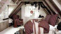 Decorare la camera da letto a Natale in modo originale