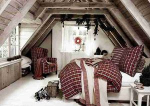 Decorare la camera da letto a Natale in modo originale