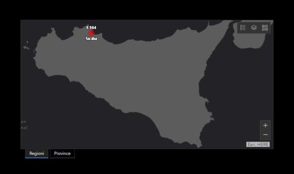 Coronavirus Sicilia: Catania ancora con più contagi, ma preoccupano Enna e Messina